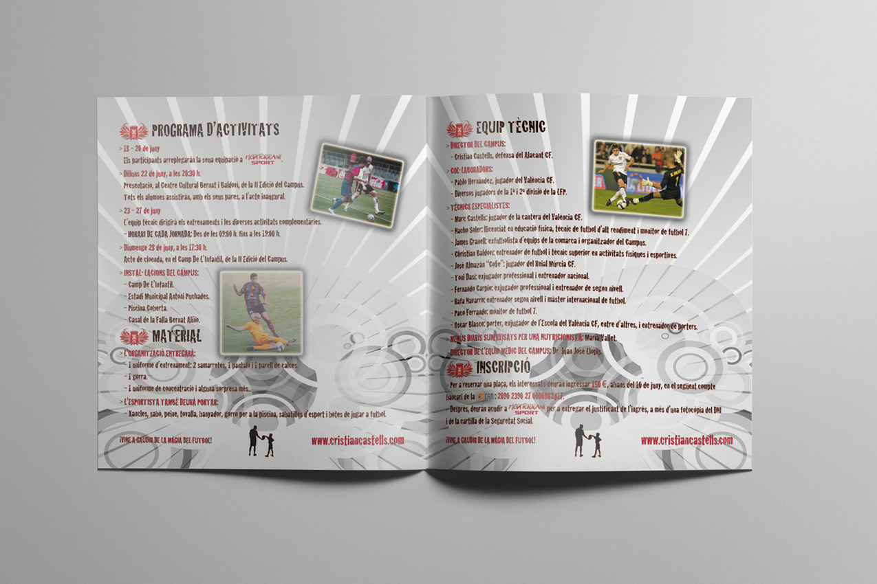Cristian Castells Campus - Inside booklet '09